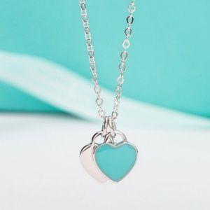 Sterling Silver Necklace Pendant 45cm